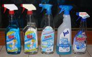 Putzmittel Reinigungsmittel Waschmittel etc