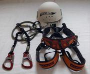 Komplette Klettersteigausrüstung