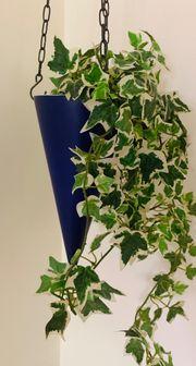 Blumenampel Keramik mit Kette
