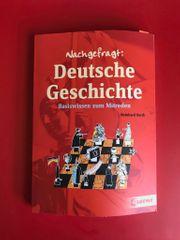 Buch Nachgefragt Deutsche Geschichte