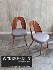 2 Restaurierte Tatra Stühle von