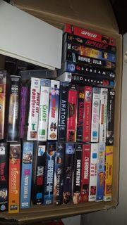 DVD VHS Blu-Ray Flohmarktware