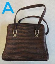 Damen Leder Handtaschen Schultertaschen Stück