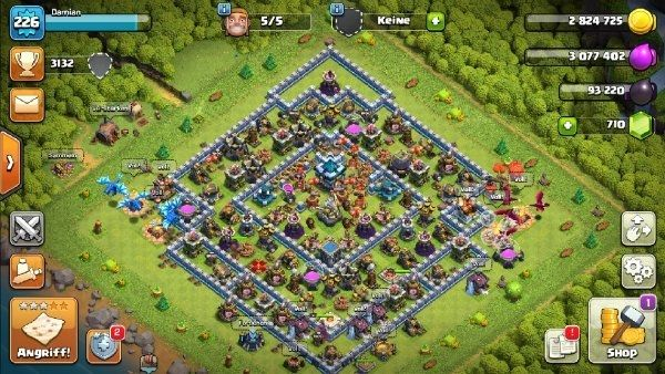 Clash of clans Account Rathaus 13 Maxed out