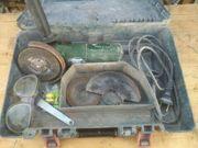 Kleine Bosch Flex mit Koffer