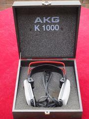 AKG K 1000 High-End-Kopfhörer Schwarze