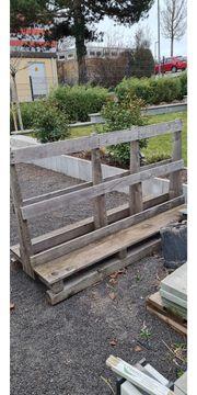 Holzpalette für Transport von z