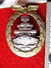 Marine Flotten-Kriegsabzeichen 1941 alte Sammleranfertigung