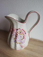 ALTER ital Waschkrug handbemalt