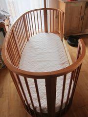 Stokke Sleepi Bettsystem aus Buchenholz