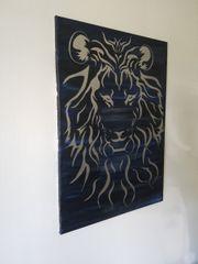 Bild Löwe - Breite 50 cm