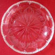 6 Stück Dessertschalen Bleikristall geschliffen