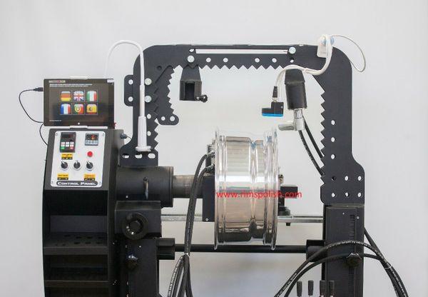 4 Kolben Laser Felgen Felgenrichtmaschine