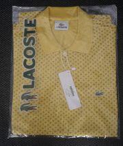 LACOSTE Mini Piqué-Poloshirt mit Micro-Muster