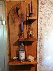 Regal aus Holz Handarbeit Wohnzimmer
