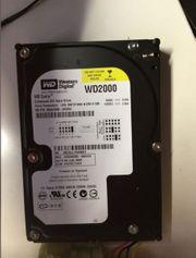 WD2000 - IDE HDD mit 200