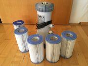 Filterpumpe Filterkartuschen