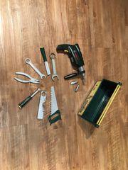 Werkbox und Borhmaschine Bosch Marke