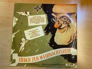 Schallplatte Lieder zur Weihnachtszeit Telefunken