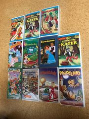VHS Märchen Kassetten