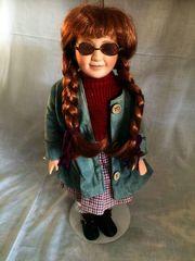 Porzelan-Puppen Deko Original SAMMLER KIM-Puppe