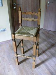 Barhocker aus Holz