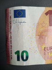 10 schein Christine Lagarde unterschrift