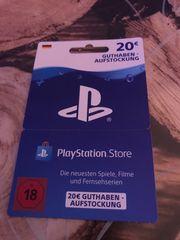 verkaufe eine PlayStation Store Karte