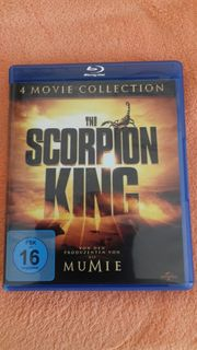 DVD Blu-ray Scorpion King