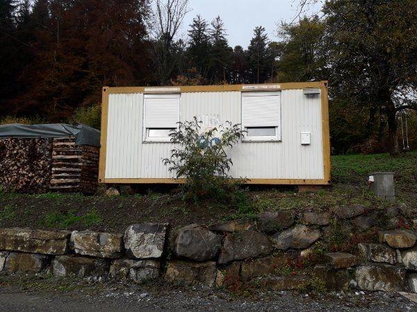 20 Bürocontainer Bauhütte 6m 6