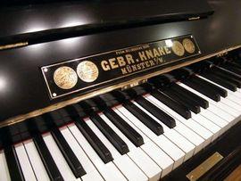 Tasteninstrumente - Klavier Knake wunderschönes komplett überholtes
