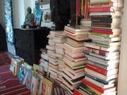 Verkaufe Bücher etwa 500 Stück