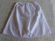 Mädchenbekleidung Unterrock weiß Batist selbst