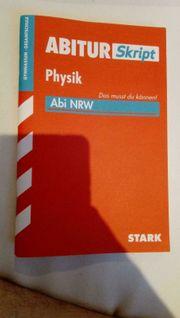 Abitur Skript Physik Abi NRW