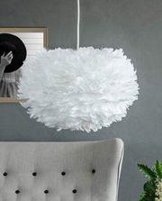 Wolken-Lampe Feder-Lampe