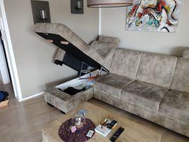 Polstergarnitur mit Bettkasten und Schlaffunktion: Kleinanzeigen aus Urbach - Rubrik Polster, Sessel, Couch