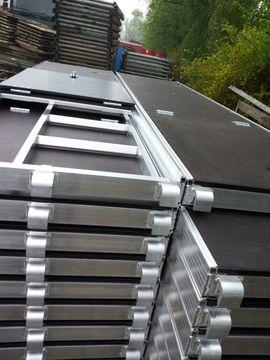 Sonstiges Material für den Hausbau - 101 m² Alu Gerüst Baugerüst
