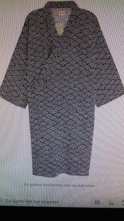 Herren Bademantel Kimono Mantel