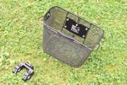 Fahrradkorb Einkaufskorb Lenkerkorb Front Adapter