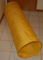 Gelbe Krabbel-Röhre - ca 162 cm -