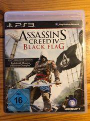 PS3 Assassins Creed 4 Black