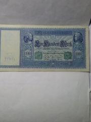 Reichbanknote 100 Mark 1910