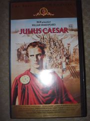 VHS Video Julius Caesar