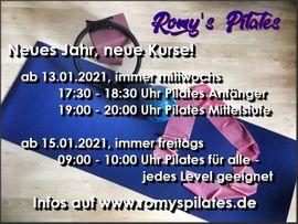 Schulungen, Kurse, gewerblich - Pilatestraining live und online - Start