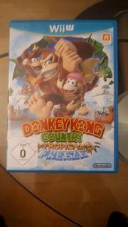 Donkey Kong Tropical Freeze Wii