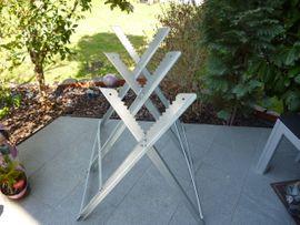 Gartengeräte, Rasenmäher - Gebrauchter Metallsägebock