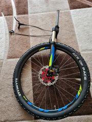 Fahrradreifen Federgabel mit Fernbedienung Scheibenbremsen