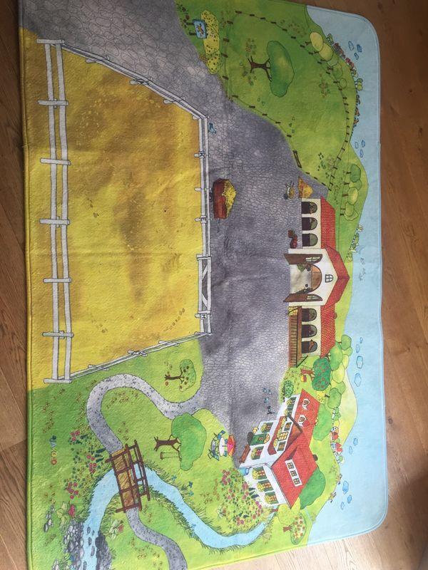 Spielteppich JAKO-O Pferde - Bauernhof