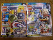 Lego Magazin Zeitschrift Comic Marvel