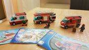 Krankenwagen - Feuerwehr - Polizei